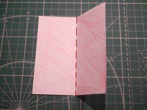 бумажный кубик, шаг 1