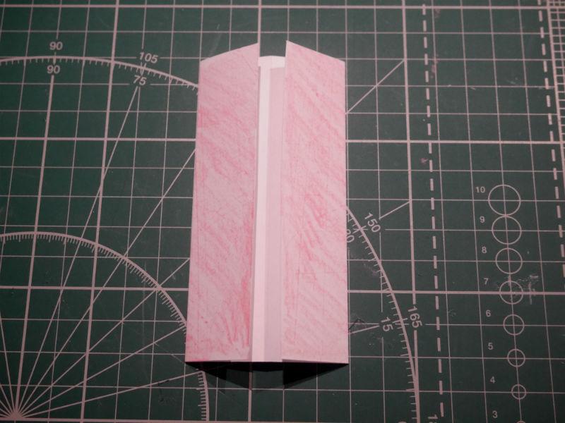 бумажный кубик, шаг 3