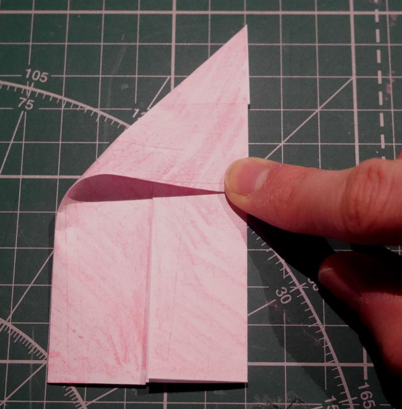 бумажный кубик, шаг 4