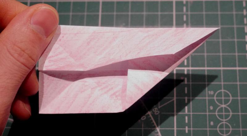 бумажный кубик, шаг 8