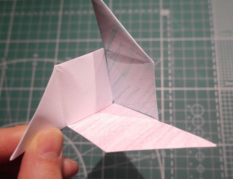 бумажный кубик, шаг 17