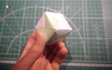 Простая кусудама: кубик